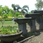 Concrete Outdoor Water Fountains CWF.0068