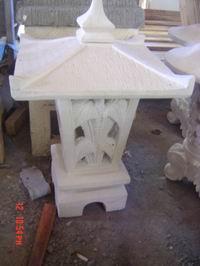 Sandstone Garden Lamp SGL. 006
