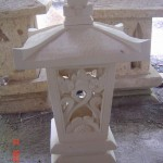 Sandstone Garden Lamp SGL.005