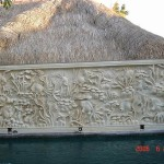 Stone Wall Carving P.0047
